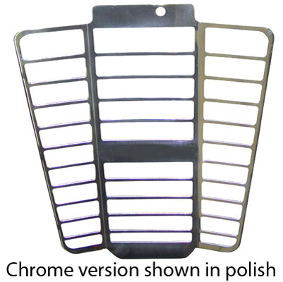 Yana Shiki Chrome Radiator Cover
