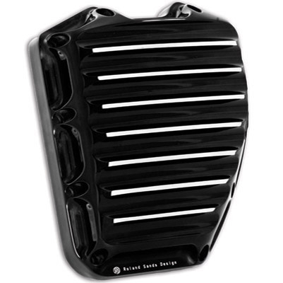 Roland Sands Design Contrast-cut Nostalgia Cam Cover for Twin Cam