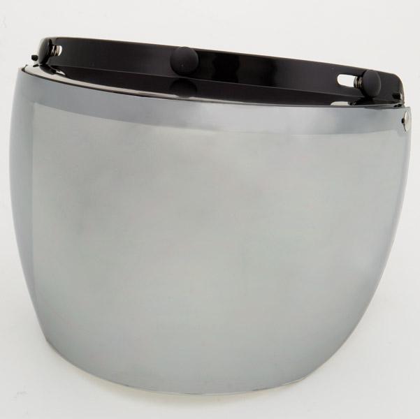 DMS 3-Snap Silver Mirror Flip Shield