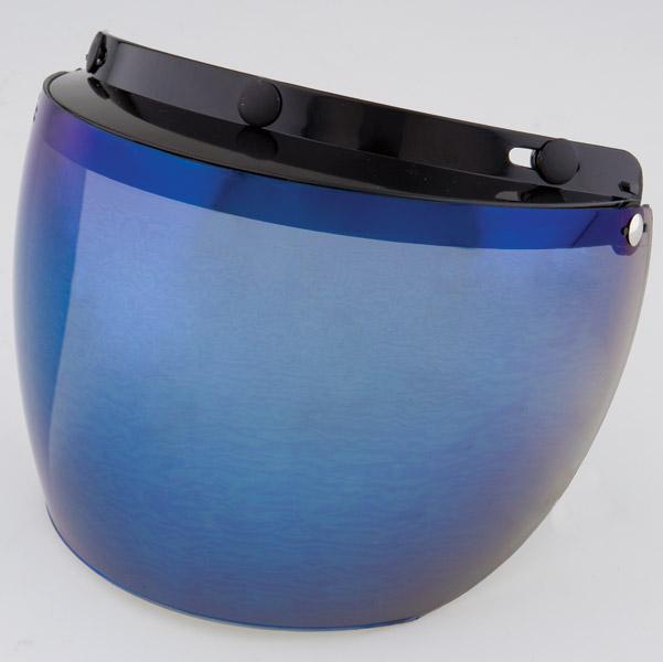 DMS 3-Snap Blue Flip Shield