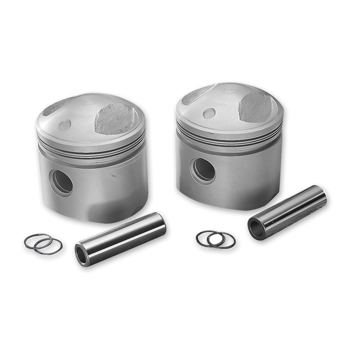 Drag Specialties Replacement Pistons, 3.498