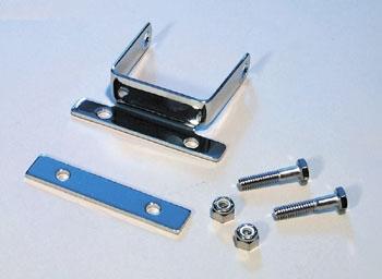 J&P Cycles® Chrome Two-Piece Coil Bracket