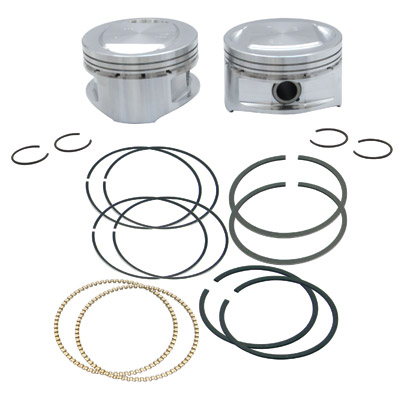 S&S Cycle Piston Kit, 3.437