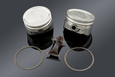 Keith Black Dish Top Performance Piston Kit