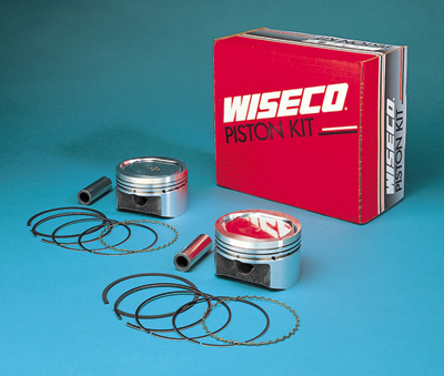 Wiseco K1623 3.497 Bore 9.5:1 Compression Ratio Domed Forged Piston Kit