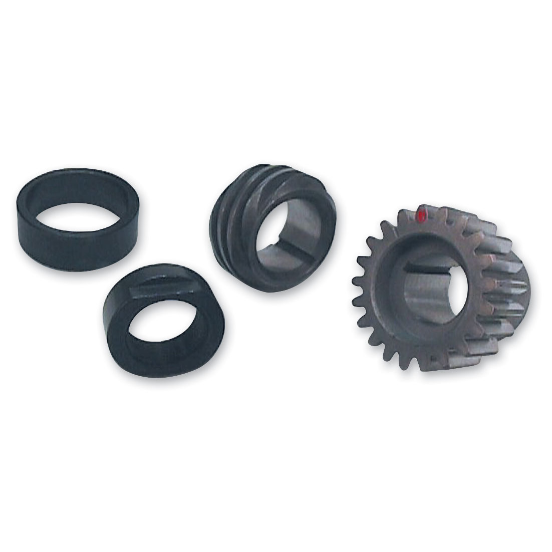 S&S Cycle Red Pinion Shaft Conversion Package for Big Twin