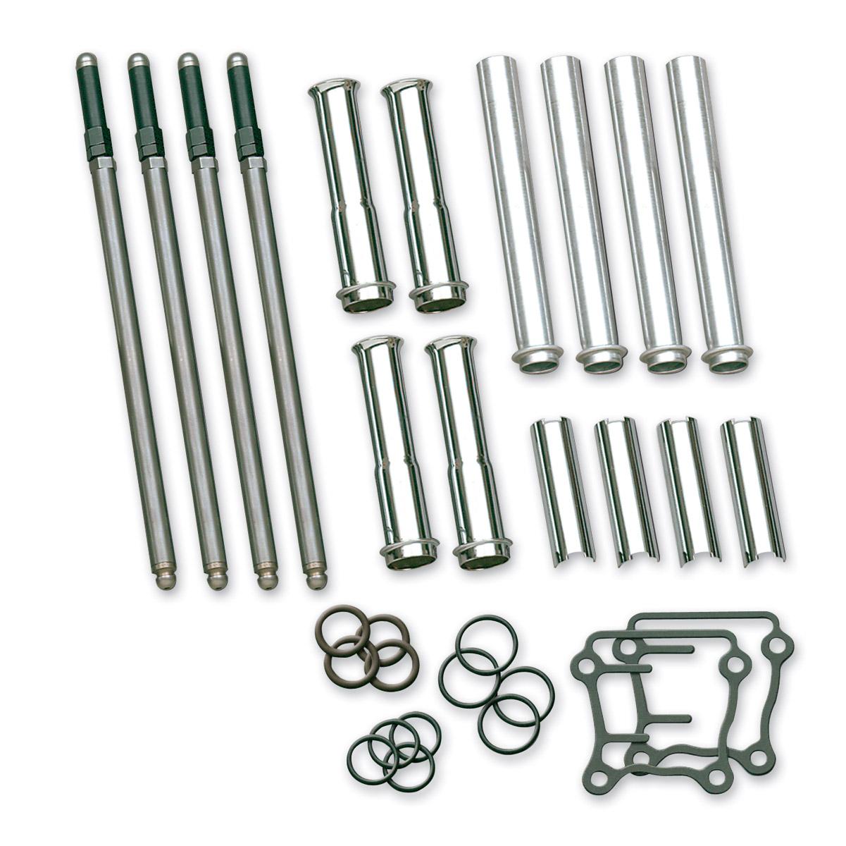Ss Cycle Adjustable Pushrod Complete Kit 432 650 Jp Cycles 08 Kawasaki 650r Wiring Harness