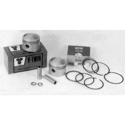 V-Twin Manufacturing Side Valve Piston Kit, 3.312