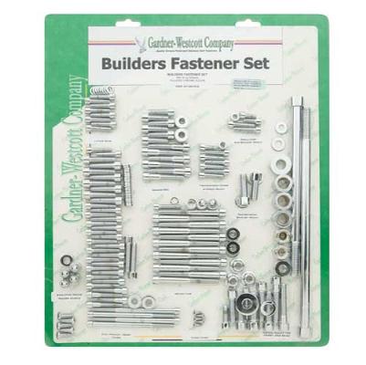Gardner Westcott Chrome Builders Set