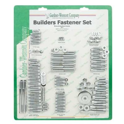 Gardner Westcott Polished Builders Fastener Kit for Touring Models