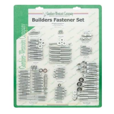 Gardner Westcott Polished Builders Fastener Set for Dyna