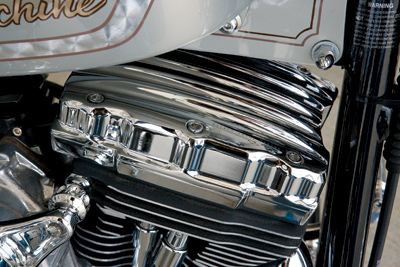 Roland Sands Design Chrome Nostalgia Rocker Box Cover