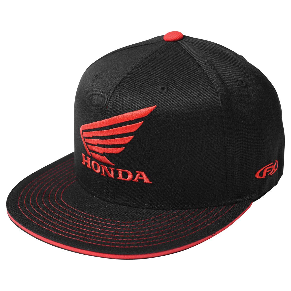 Factory Effex Official Honda Big Wing Caps Mens FlexFit Hats
