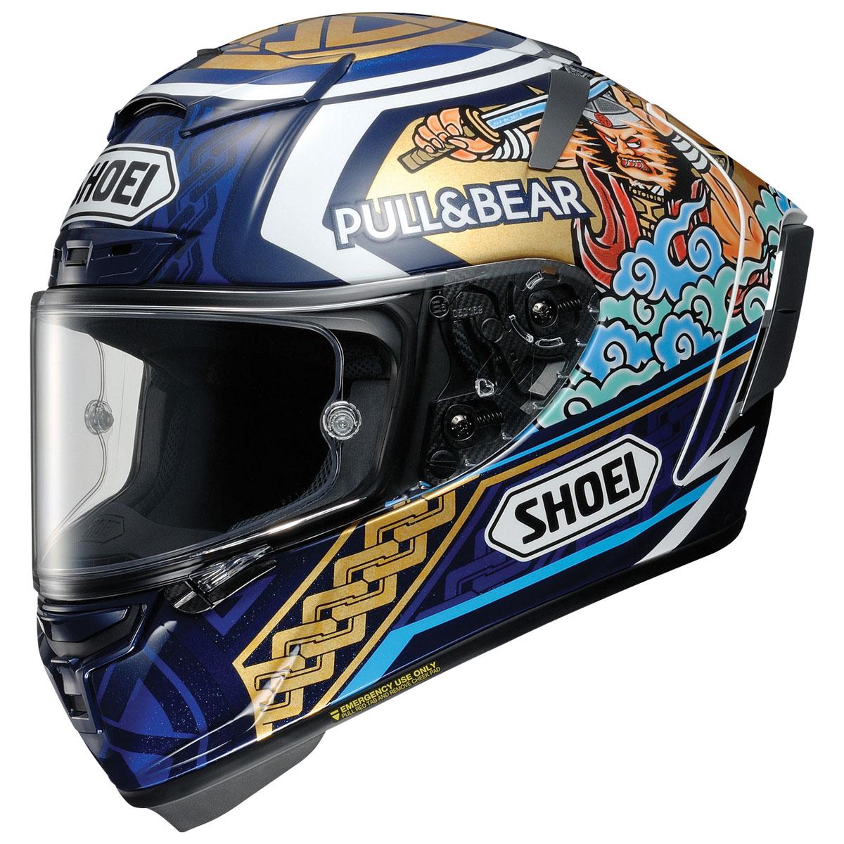 Shoei X-Fourteen Marquez Motegi 3 Full Face Helmet