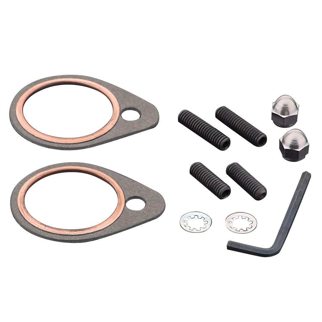 Exhaust Stud-Nut and Gasket Kit for Shovelhead - 4400175