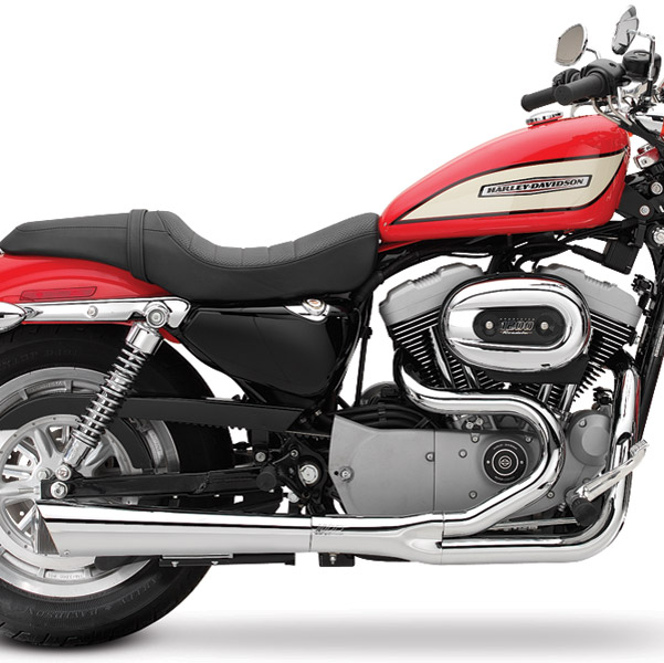 SuperTrapp 2-into-1 Supermeg Black Ceramic Exhaust System