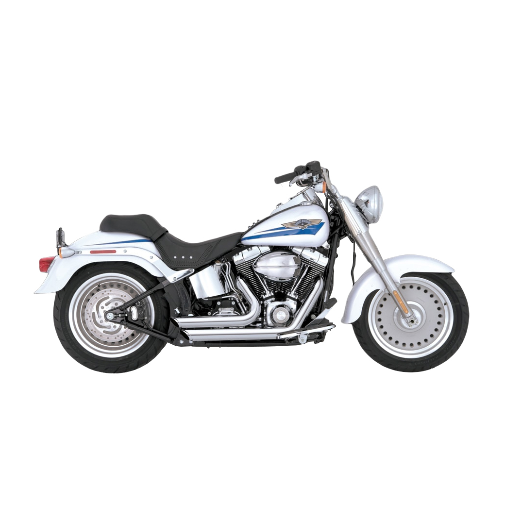 Vance & Hines Shortshots Staggered Exhaust Chrome - 17221