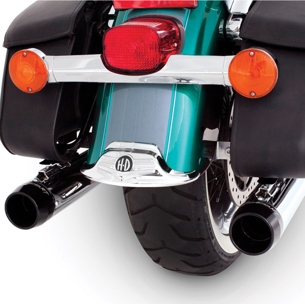 Rinehart Racing Classic Dual Exhaust System with Chrome 3.5″ Mufflers