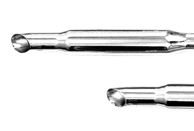 Paughco 1-3/4″ 40″ Long Mid-Length Staggered Duals Goose-cut Exhaust System