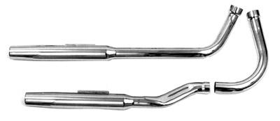 Paughco 1-3/4″ 38″ Long Shotgun 'S' Tapered Exhaust System