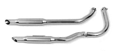 Paughco 1-3/4″ 38″ Long Shotgun 'S' Goose-cut Exhaust System Kickstart/Rigid Only
