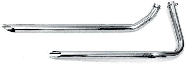 Paughco 1-3/4″ 38″ Long Shotgun Slash-cut Drag Pipes