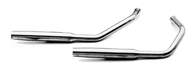 Paughco 1-3/4″ 38″ Long Staggered Dual Tapered Exhaust System