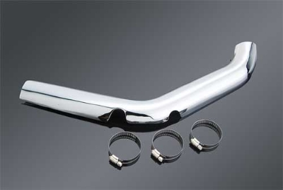 J&P Cycles® Chrome Heat Shield for Front Pipes