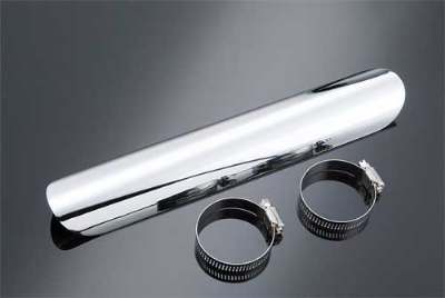 J&P Cycles® Chrome Heat Shield, Universal