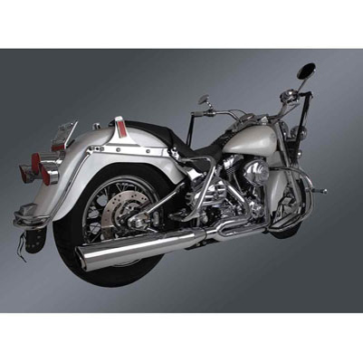 Freedom Performance Exhaust Union 2-into-1 Chrome Exhaust System