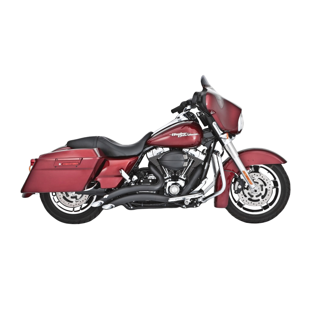 Vance & Hines Big Radius 2 into 2 Exhaust Black