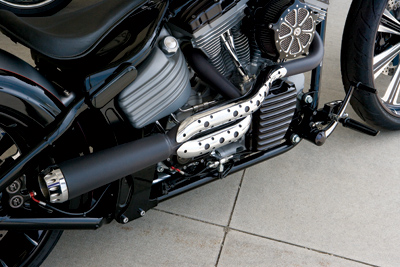 Roland Sands Design Tracker Exhaust 2-into-1 Exhaust