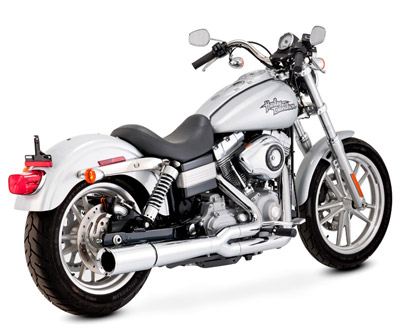 Vance & Hines 2-Into-1 Chrome Pro Pipe