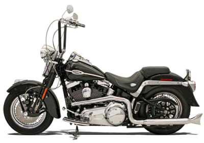 Bassani Standard True-Dual Crossover Head Pipes