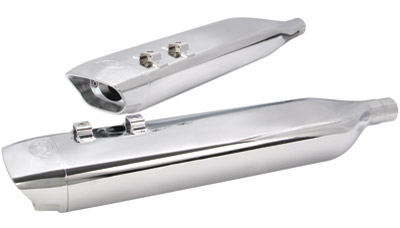S&S Cycle SPO Mufflers for Touring Models