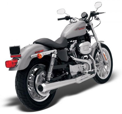 Bassani Road Rage Chrome 2-into-1 Long Megaphone Muffler
