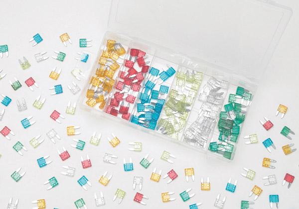 K&L Supply Co. 120 Piece ATM Mini Fuse Kit