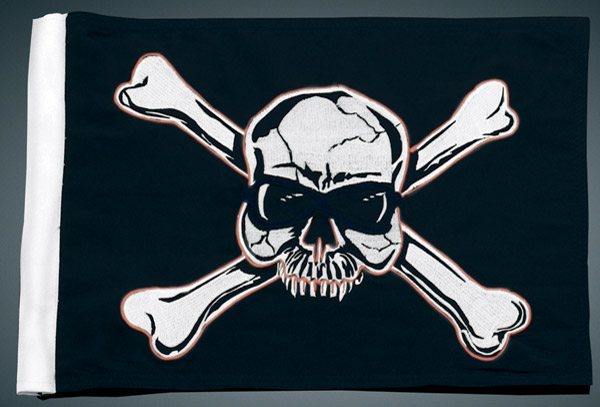 Kuryakyn Pirate Flag