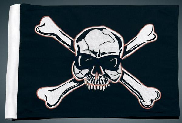 Kuryakyn Pirate Flag