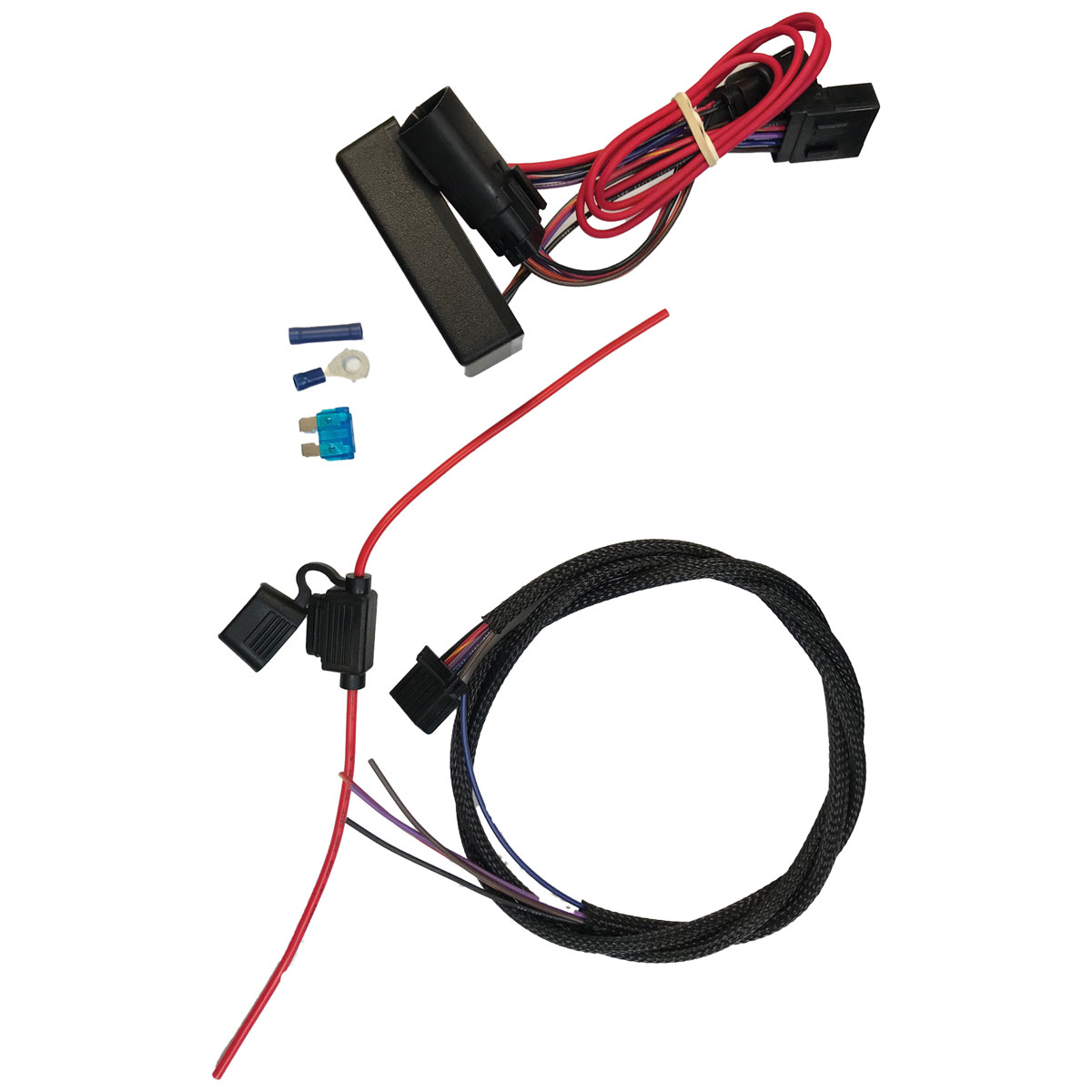 fbi trailer wire harness (8 pin molex connector) fbi harness 8 semi 7 pin trailer plug wiring diagram 8 pin trailer wiring harness #14