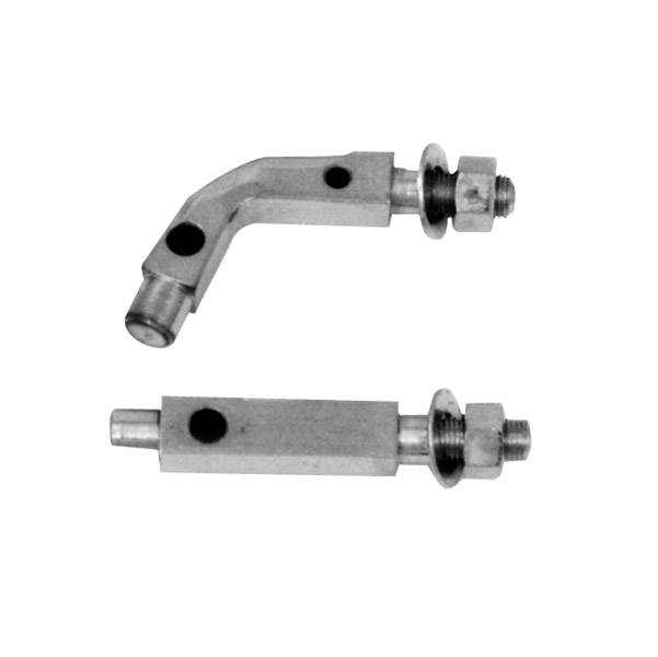 Paughco Right-side Mounting Brackets for Early Model Big Twin