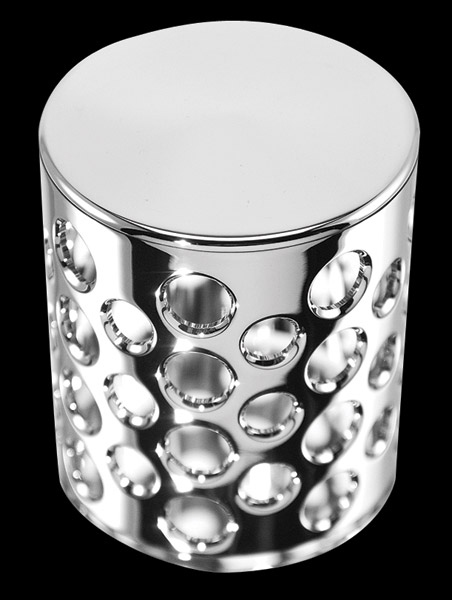 Battistinis Chrome Oil Filter Covers