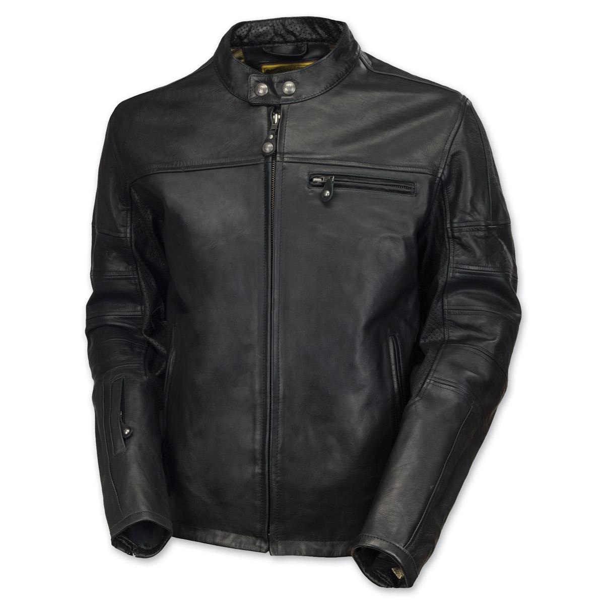 Roland Sands Design Ronin Black Leather Jacket