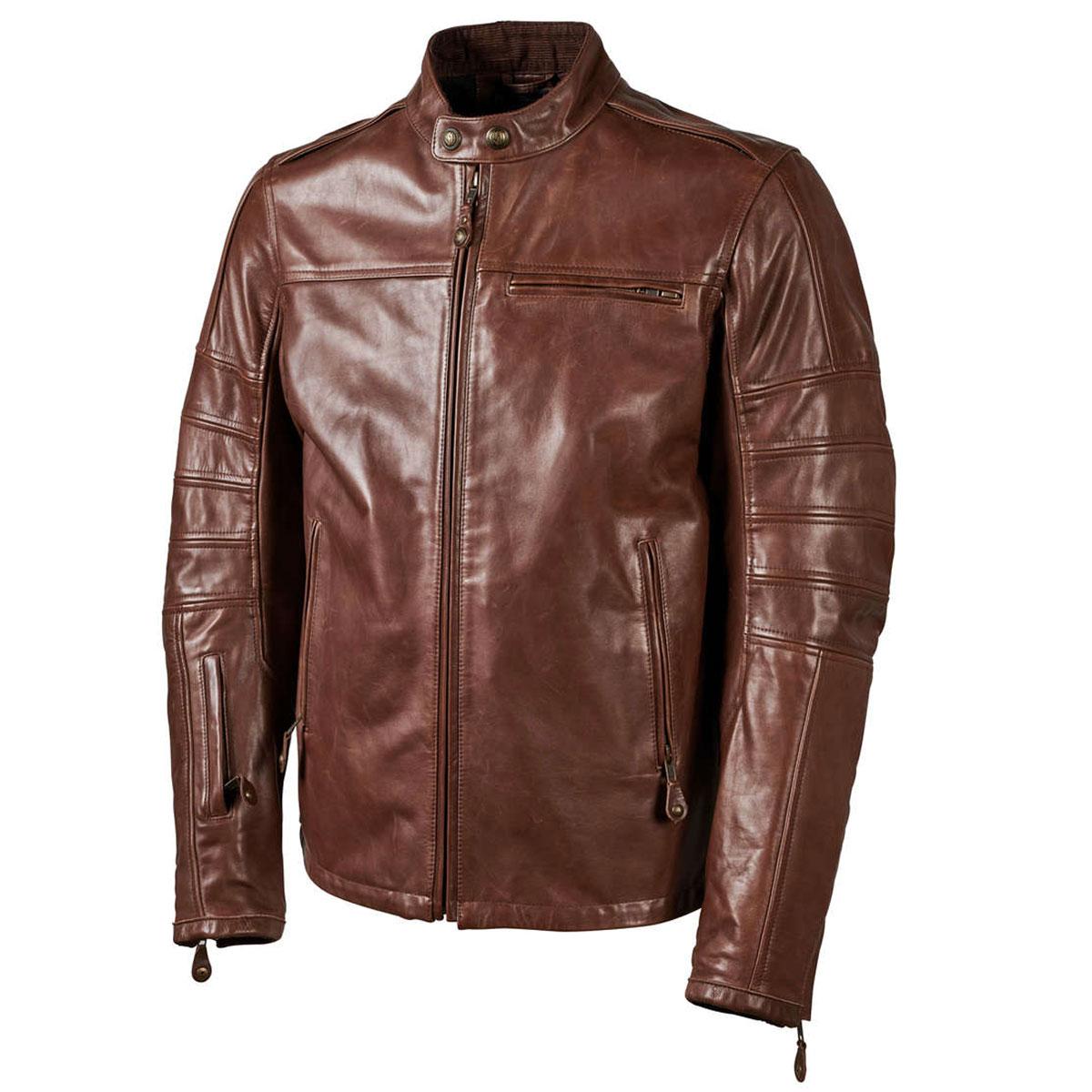 Roland Sands Design Ronin Tobacco Leather Jacket