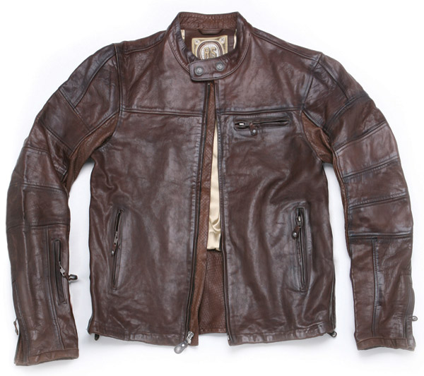Roland Sands Design Ronin Tobacco Leather Jacket | 445-562 | J&P ...