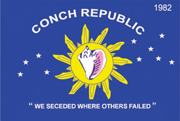 Rumbling Pride Conch Republic Flag