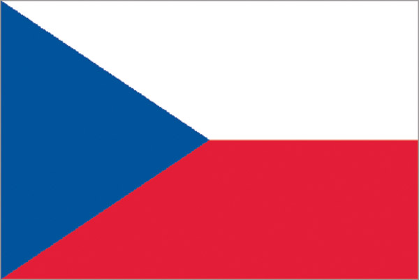 Rumbling Pride Czech Republic Flag