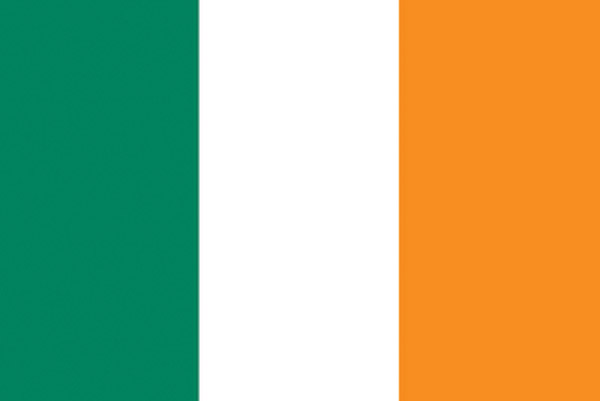 Rumbling Pride Ireland Flag