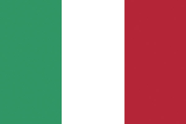 Rumbling Pride Italy Flag