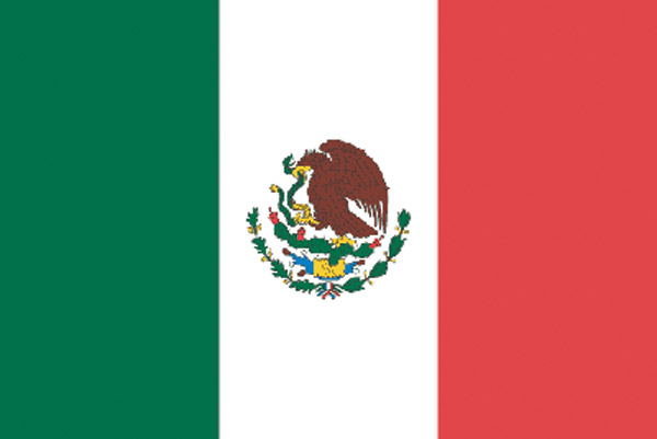 Rumbling Pride Mexico Flag